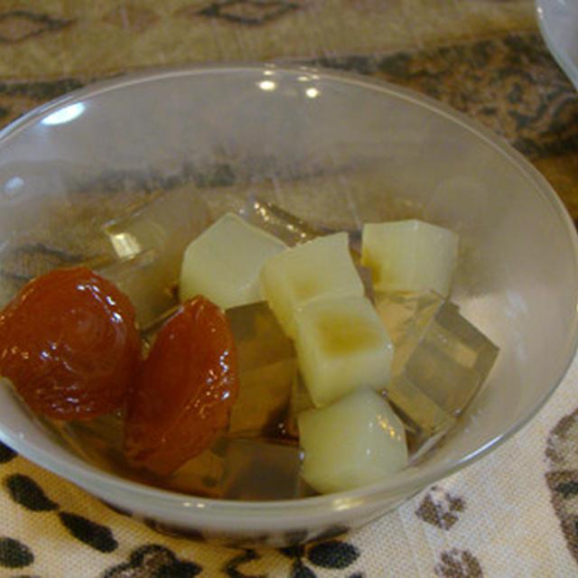 Cold agar dessert (寒天の季節)