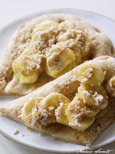 バナナとココナツのブランナン
