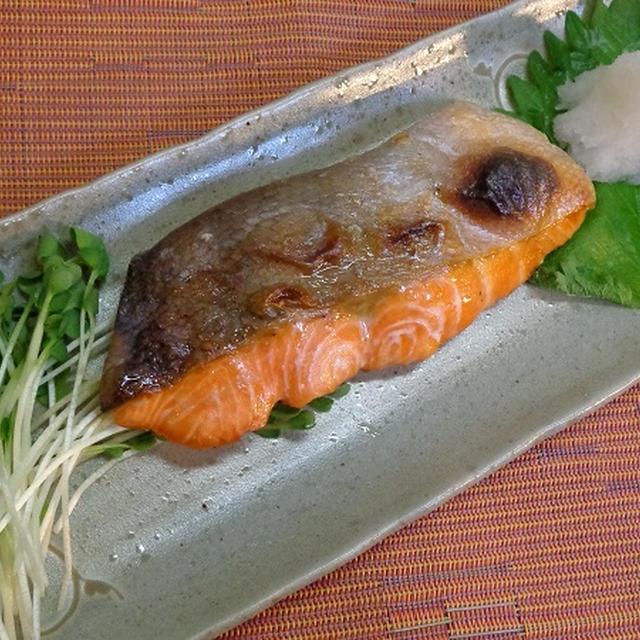 鮭の塩焼き ふっくら贅沢鉄板メニュー!グリルで簡単 味覚を堪能