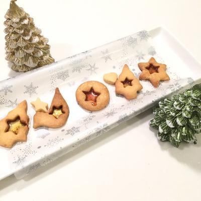 クリスマス★ステンドグラスクッキー