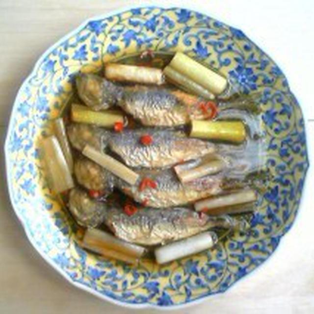 一日一品江戸料理―323「鯵の南蛮漬け」