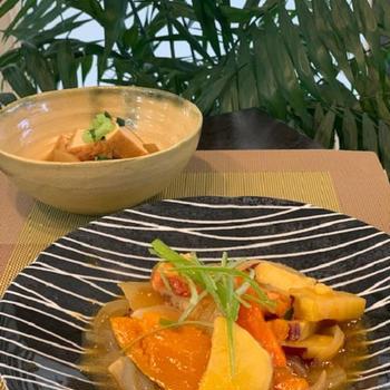 鶏胸肉と根菜の甘酢炒め~節約レシピです!!町づくりセンター講座に行ってきます