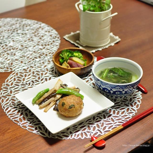 10分で完成!【小松菜とツナのスープ】と天ぷら粉活用★発酵無し時短フォカッチャ