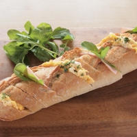 お肌ケアしながら朝ごはんを作ろう♪コストコフランスパンで朝ごぱん
