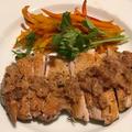 スー・ヴィードの料理二品(鶏もも肉と鮭)&真心の贈り物