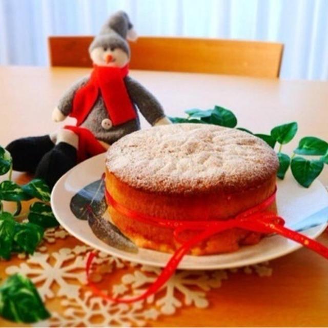 簡単キャラメリゼのアップルケーキ♪