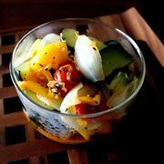 夏野菜のオイル煮&きゃわ・・かっちゃん♪