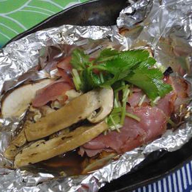 レシピ 焼き 松茸 ホイル