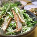 みず菜と薩摩揚げのマヨ和え