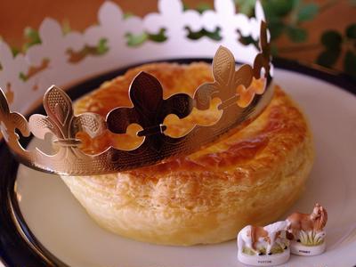 ガレット・デ・ロワ(ガレットデロワ)☆新年を祝うフランスのお菓子