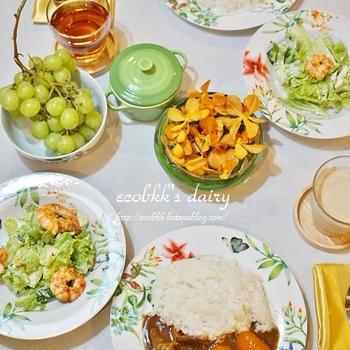 カレーライスとカレーうどん/Japanese Curry with Rice/Udon