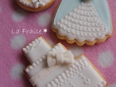 >アイシングクッキー♪ ハッピーウエディング by mai*さん