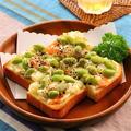 枝豆ポテサラトースト (レシピ)