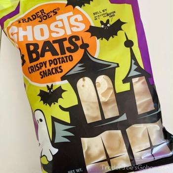 トレジョ おばけとこうもりのポテトチップス Trader Joe's Ghosts and Bats Crispy Potato Snacks