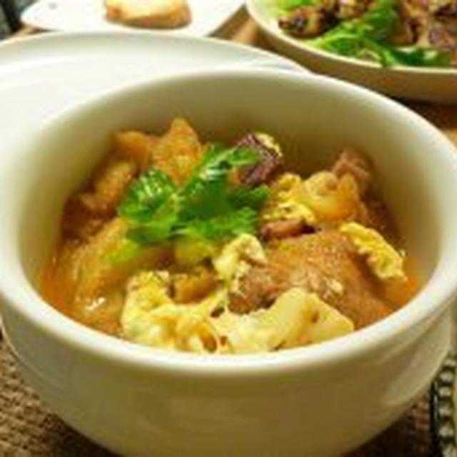かなり自己流…カスティーリャ風スープ