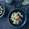 【イチビキ 蒸し枝豆】枝豆と海老のパスタサラダ