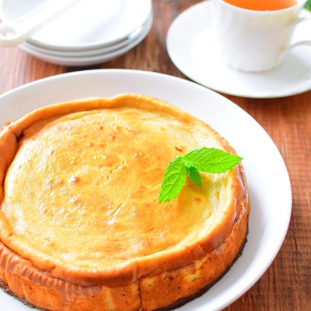 【生クリームなし】バナナ入りベイクドチーズケーキのレシピ