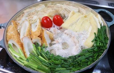 ★ 秋鮭の白子鍋