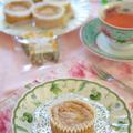 ハーブティー「ほんわかさん」とマスカルポーネ&ローズヒップのふんわり米粉ケーキ♪