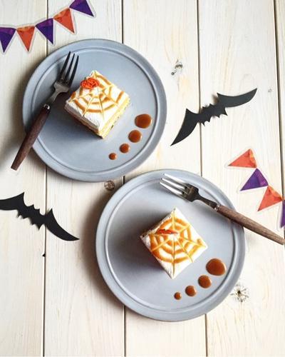ハロウィン仕様♪かぼちゃが苦手な人に*キャラメルケーキ♪