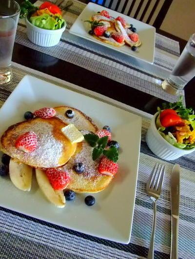 ★世界一の朝食★ Billのリコッタパンケーキ