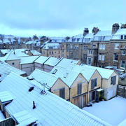 素敵な雪の日曜日❤️