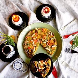 パーティーやおもてなしに♪簡単に華やか「スパニッシュオムレツ」レシピ