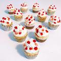 NYスタイルの米粉ストロベリーチーズカップケーキのレシピ☆人気のグルテンフリー・BPなし!