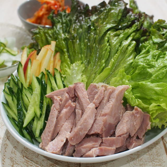 たっぷり野菜と塩麴豚