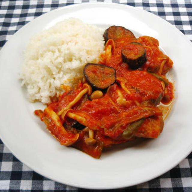 野菜たっぷりチキンのトマト煮