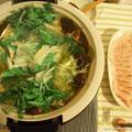 たっぷりお野菜と塩だしの鯛しゃぶ鍋 by にゃあぱんさん