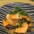 レッスンは2本立て、鮭と茄子のおろし煮とプリンケーキ~おやつはフォルテシモアッシユのショコラ