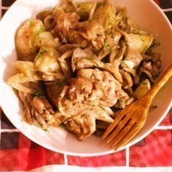 ☆鶏肉とまいたけのイタリアン風煮込み☆