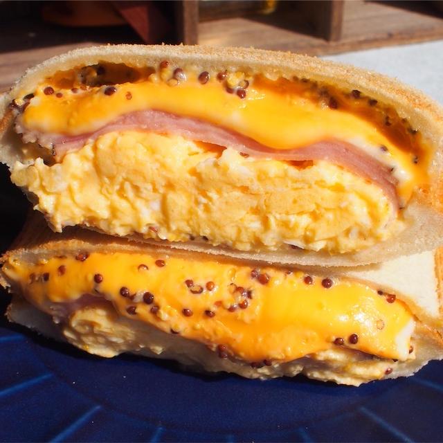 【レシピ】ハムと卵の基本のホットサンド