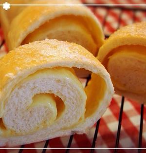 HBでお家パン♡〜ココナッツオイル香る〜とろけるチーズのシュガーブレッド