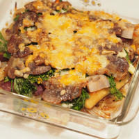 野菜と豚肉のオーブン焼き