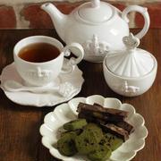 * ギルトフリースイーツ ♡ 玄米粉のチョコ抹茶クッキー♪