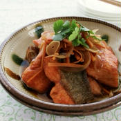 中華風、鮭の南蛮漬け
