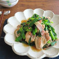 ごはんがすすむ和総菜◎鶏もも肉と青ねぎのにんにくじょうゆ炒め
