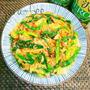 5分で簡単ヘルシー副菜*春キャベツとニラとツナのピリ辛和え