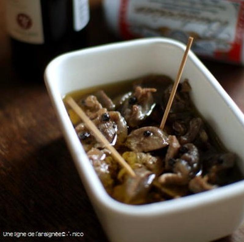 お酒がすすむ!「砂肝コンフィ」のおつまみレシピ