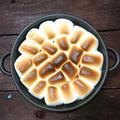 チョコとマシュマロとろ~カリっ6分で簡単適当スモアデザート