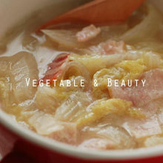 【痩】 簡単&おいしい!白菜のチーズスープ