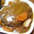 カレー煮込みハンバーグ