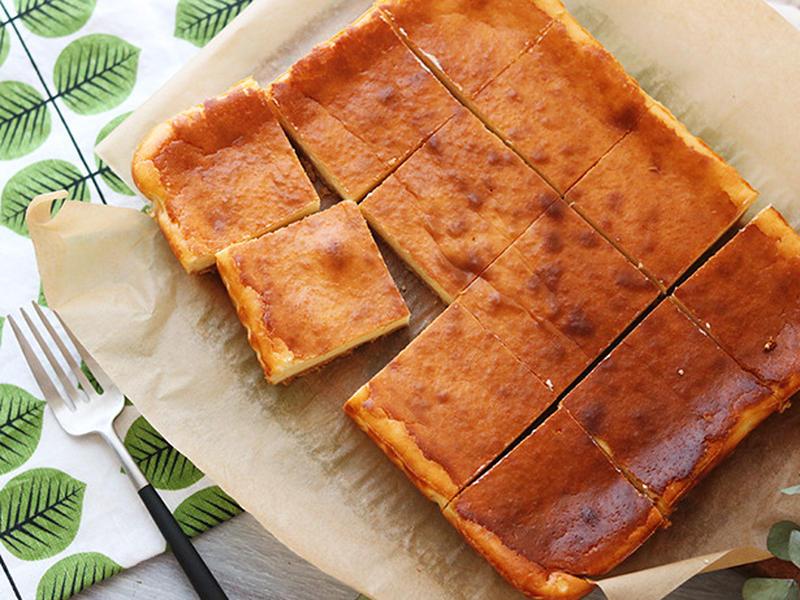 下ごしらえ以外でも大活躍!琺瑯バットで作る「ヨーグルトベイクドチーズケーキ」