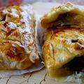 ■【お正月スイーツは きんとんリメイクで簡単なパイを焼き 丸パンもお土産に焼きました♪】