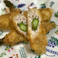 アスパラガスの肉巻きフライ(福島クッキングアンバサダー:レシピ)