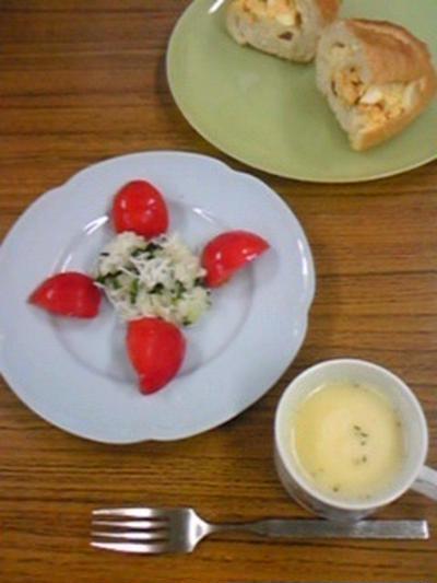 朝食のような夜食