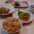 和食の晩御飯
