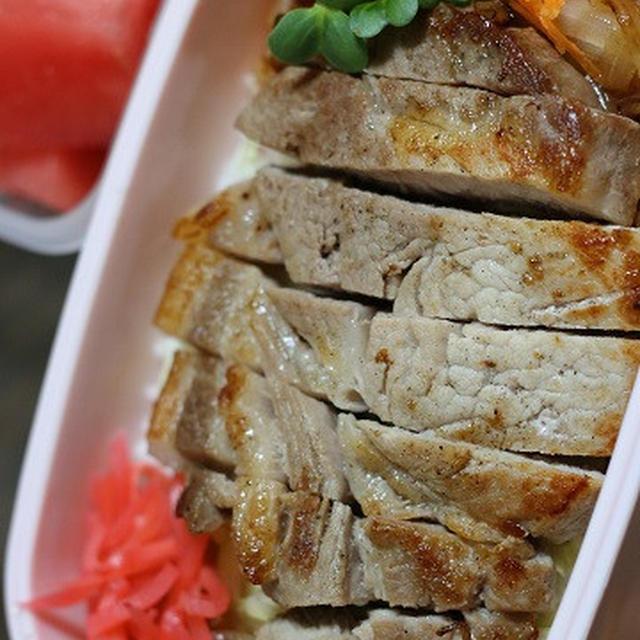 6月5日  豚肉のっけド~ン!弁当